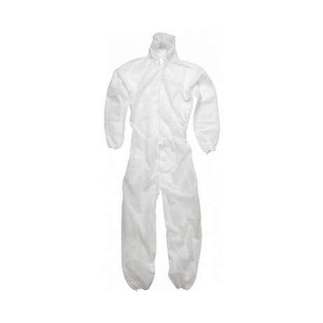 Integral protective overalls for painting