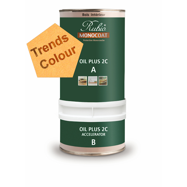 OIL PLUS 2C COMPL A+B PIGMENTEE